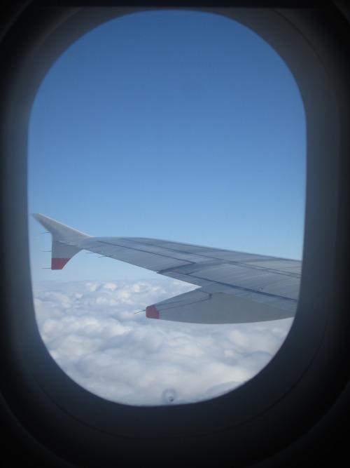 .... über den Wolken ....